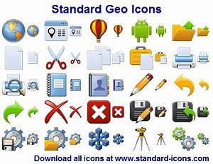 Standard Geo Icons full Windows 7 screenshot - Windows 7 ...