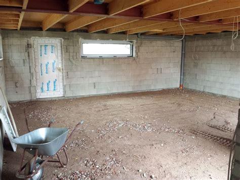 Garage Pflastern Oder Bodenplatte by Au 223 Enanlage Bautagebuch Riensf 246 Rde