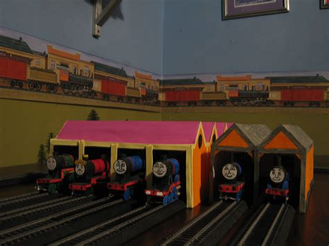 The Tidmouth Sheds by Rws Locations Tidmouth Sheds Classic By