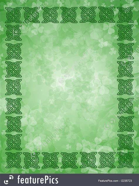 illustration  celtic knot frame border