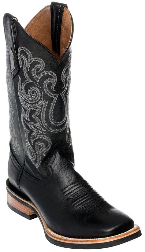 ferrini mens french calf leather cowboy boots square
