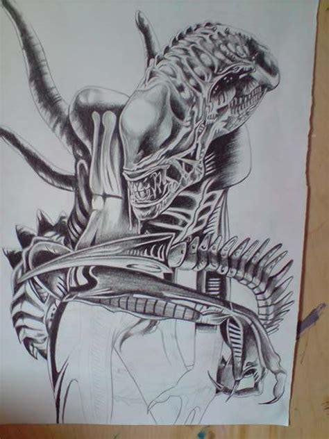 tattoo designs alien tattoo designs