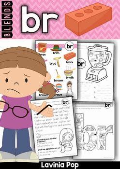 blends worksheets  activities br  lavinia pop tpt