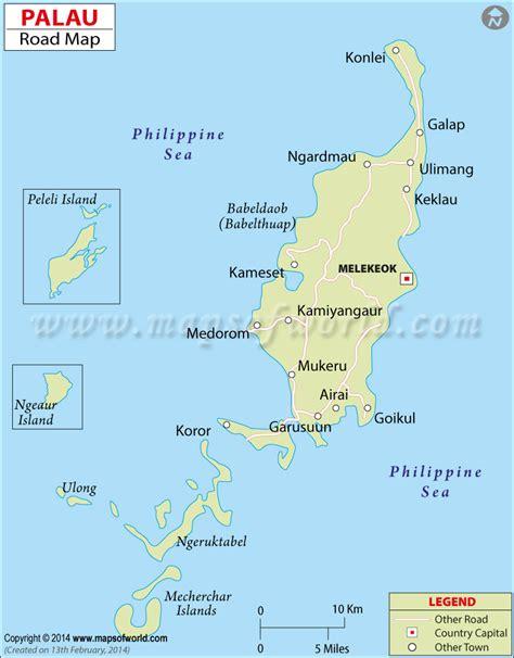 Palau Road Map