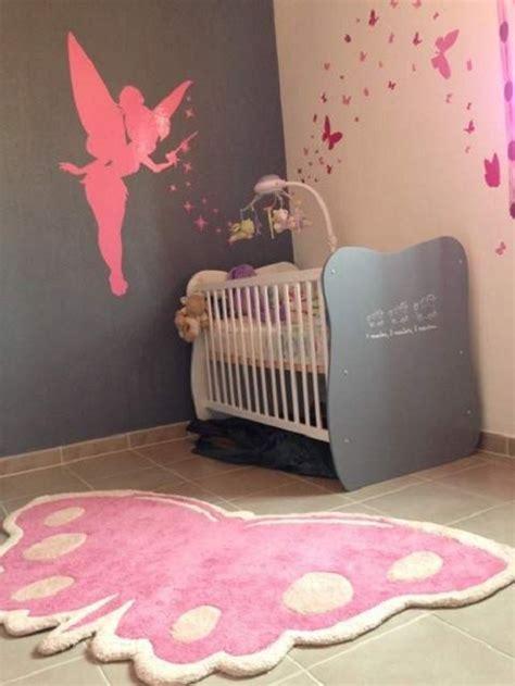 d馗oration papillon chambre fille décoration chambre bébé fille papillon