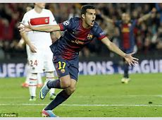 Barcelona midfielder Xavi completes 96 passes out of 96