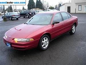 For Sale 1999 Passenger Car Oldsmobile Intrigue Gx  Dallas