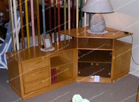 profondeur canapé meuble d 39 angle tv hifi colombo avec rangement meuble