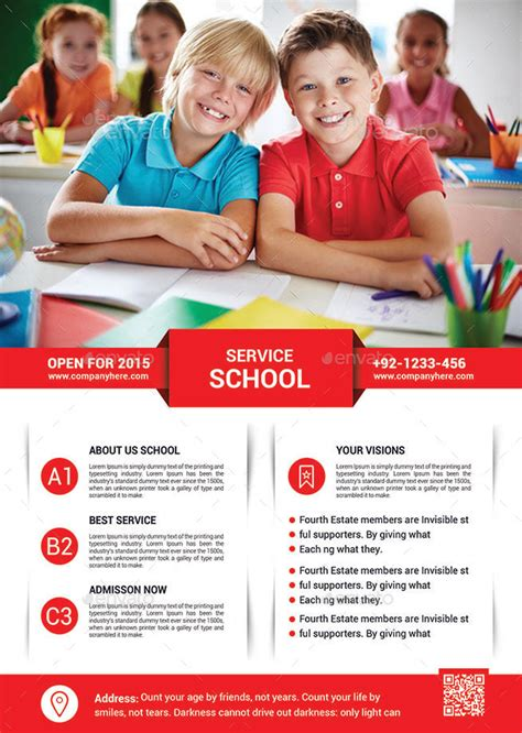 School Education Flyer Template By Afjamaal  Graphicriver. Ms Office Invitation Template. Create Customer Service Sample Resume. Free Towing Invoice Template. Basketball Camp Flyer. Red And Black Graduation Decorations. Happy Diwali Banner. Diploma Template Free Download. Usmc Boot Camp Graduation