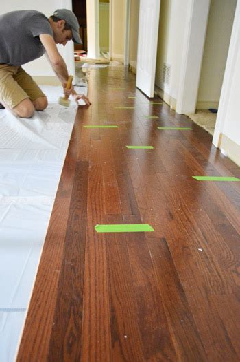 wooden floor laying how to install oak hardwood floors young house love