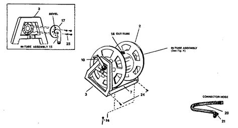 suncast model  hose reel genuine parts
