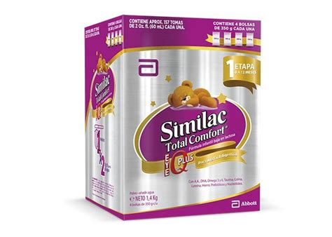 similac total comfort alimento l 225 cteo similac 1 total comfort de 0 a 12 meses