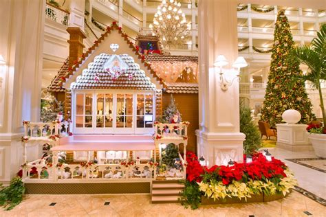 Walt Disney World's Life-size Gingerbread House