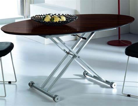 table ovale cuisine table basse relevable ovale bois wenge tables