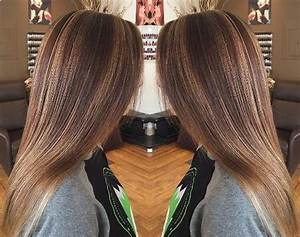 Dark Brown Hair with Caramel Highlights - 30 Fabulous Ideas