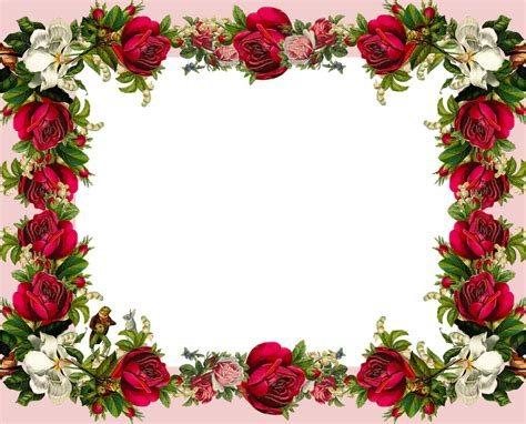 No Frames Picture 3 Piece Modern Cheap Home Decor Wall: The Gallery For --> Vintage Red Rose Border