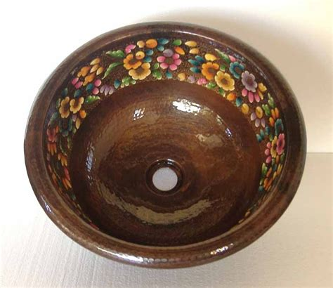 Hand Painted Copper Sinks Mexican Hand Painted Sinks