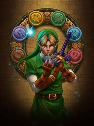 Legend of Zelda Ocarina of Time Link