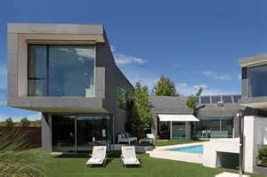 center courtyard house plans barcelona house with imposing exterior and sweet central