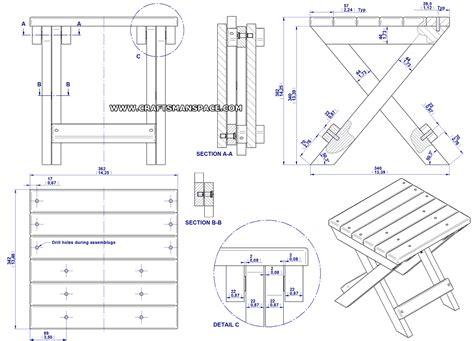 simple wood folding chair plans ethridge
