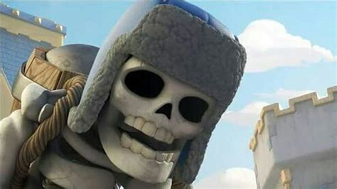 trolleando en clash royale  todo esqueletos