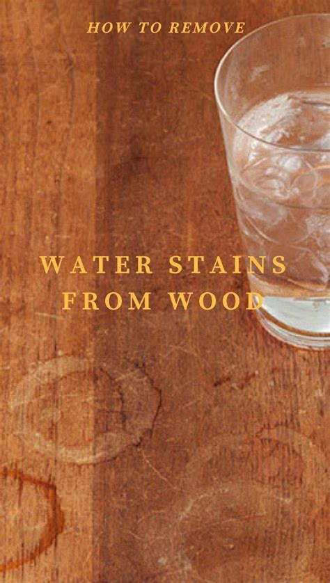 25+ Best Ideas About Remove Water Spots On Pinterest