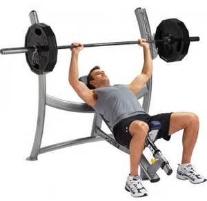 Flat Incline Weight Bench