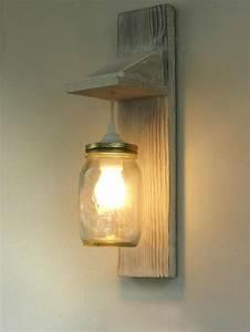 Lampen Mit Bewegungsmelder Innen : wandleuchten altholz leuchte wandleuchte weckglas beleuchtung ein designerst ck von taskod ~ Watch28wear.com Haus und Dekorationen
