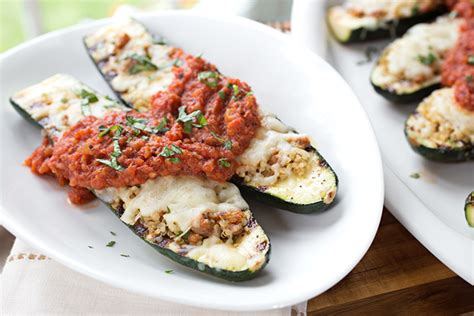 Zucchini Boat Recipes On The Grill by Zucchini Boats On The Grill Recipe