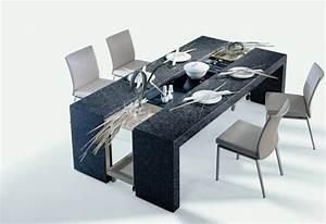 Table à Manger Design : id es modernes pour la table de salle manger design ~ Teatrodelosmanantiales.com Idées de Décoration