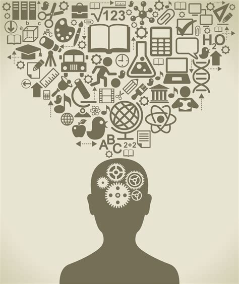falling  learning    knowledge busy mind