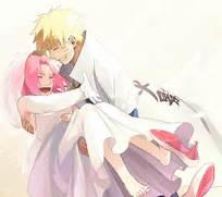 Naruto And Sakura Wedd...