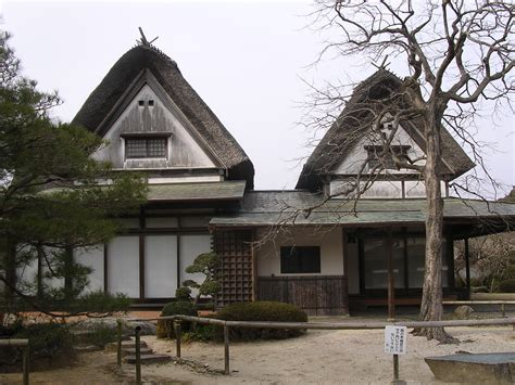 Filetraditional Japanese Housejpg  Wikimedia Commons