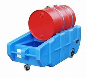 200 Liter Fass Kunststoff : fahrbare kunststoff auffangwanne wpt 230 f r 1 200 l fass polyethylen wanne g nstig bestellen ~ Frokenaadalensverden.com Haus und Dekorationen
