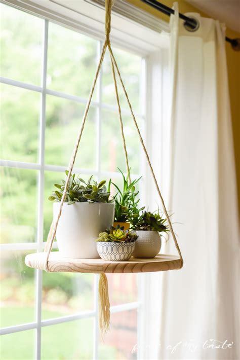diy  hanging floating shelf  wood shelterness