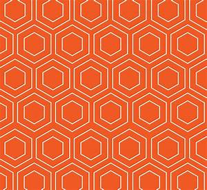 Geometric Wallpaper Pattern Orange Free Stock Photo ...