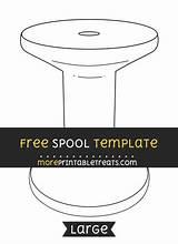 Spool Template Moreprintabletreats Sponsored Links Templates Sizes sketch template