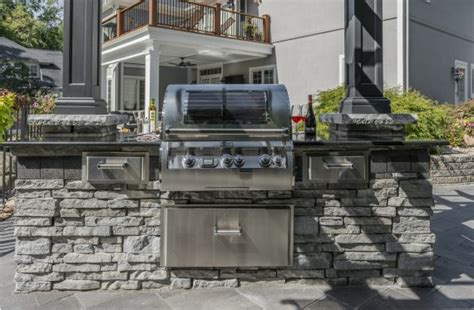 unilock outdoor kitchens choosing a theme for outdoor kitchens in boston unilock