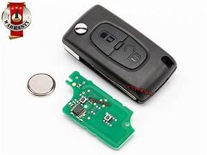 Chiave Di Riparazione Per Citroen C2 C3 434mhz Chip Id46 2pulsante 649086 6554nr