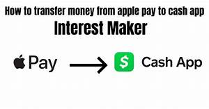 How To Transfer Money From Apple Pay To Cash App   Detail