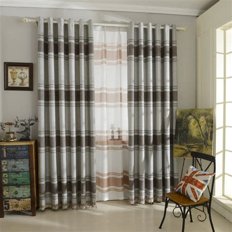 Gray Bedroom Drapes by Striped Curtains Gray Linen Curtains For Bedroom