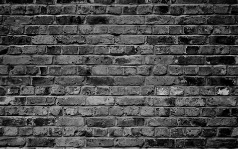 Brick Wallpaper Grey Abstract