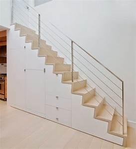 Escalier Droit Bois : les 25 meilleures id es de la cat gorie escalier droit sur ~ Premium-room.com Idées de Décoration