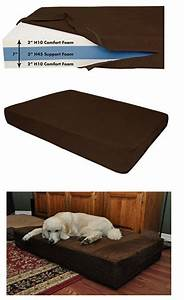 best rated dog beds for large dogs for extra comfort With best rated orthopedic dog beds