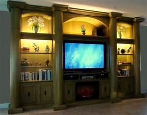 Custom Entertainment Centers - Custom Wall Units Orlando