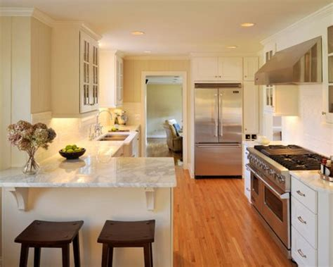 Kitchen Peninsula Measurements by Small Kitchen Peninsula Home Design Ideas Pictures