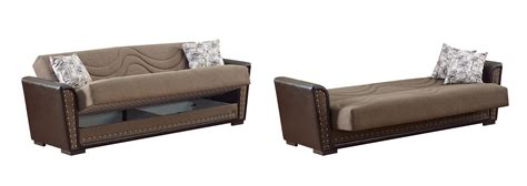 Index Sofa Bed by Toronto Brown Fabric Sofa Bed By Empire Furniture Usa