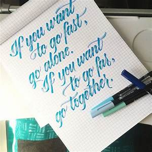 17 best images about lettering inspiration on pinterest With koi brush pen lettering