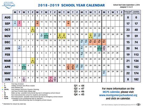mcps sets calendar shortens spring break current