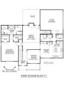 house plans 2 master suites single story house plan 2675 c longcreek quot c quot floor traditional 2